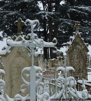 très anciennes tombes du cimetière de Bouresse Poitou-Charentes