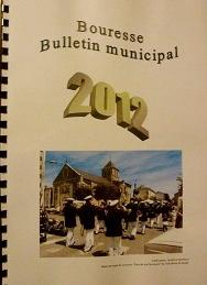 Bulletin municipal de Bouresse, Photo de couverture lauréate du concours Fier de ma commune organisé par le club photo de Saulgé, Pays montmorillonnais
