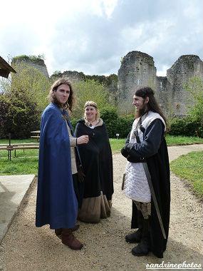 Fête médiévale au château de Gençay 29 avril 2012 (45)