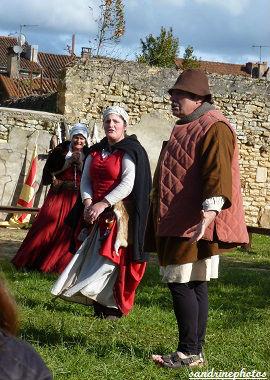 Fête médiévale au château de Gençay Fabliaux avec l`association Nouaillé 1356 - 29 avril 2012 (93)