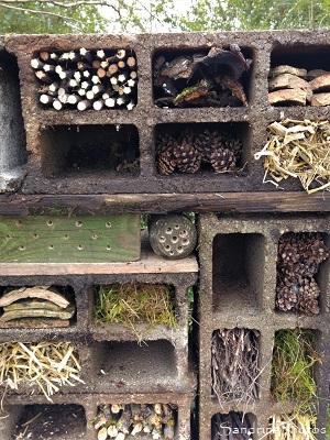 Hôtel à insectes, abri pour petites bêtes du jardin, Le Verger, Refuge LPO Bouresse 86 (20)