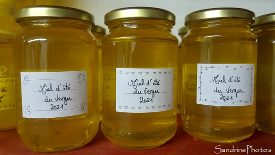 Mise en pot du miel 2021, Le Verger, Bouresse 2021-09-10
