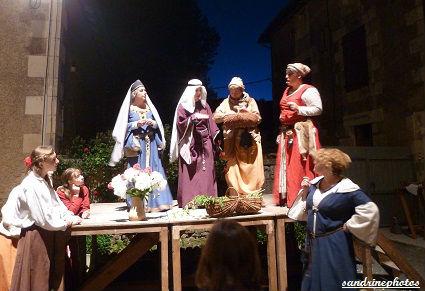 Nouaillé 1356- Coeurs en Bataille Aventure itinérante nocturne à l`abbaye de Nouaillé-Maupertuis Poitou-Charentes -1er juin 2012 (21) (4)