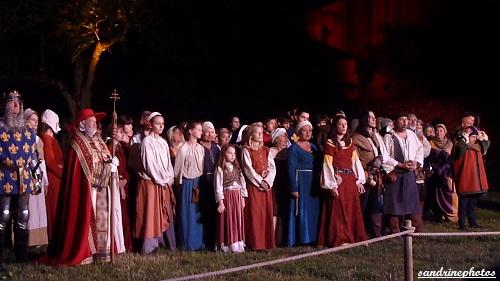 Nouaillé 1356- Coeurs en Bataille Aventure itinérante nocturne à l`abbaye de Nouaillé-Maupertuis Poitou-Charentes -1er juin 2012 (21) (6)