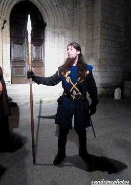 Nouaillé 1356- Coeurs en Bataille Aventure itinérante nocturne à l`abbaye de Nouaillé-Maupertuis Poitou-Charentes -1er juin 2012 (22) (6)
