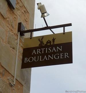 Nouvelle boulangerie à Bouresse, Rue des écoles, Poitou-Charentes