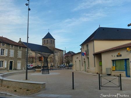 Nouvelle place des Halles, Aménagement du centre-bourg, Bouresse 2020 (7)