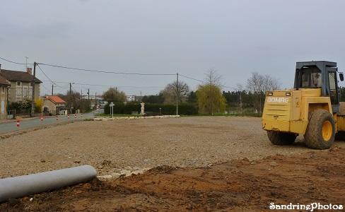 Parking Poids-lourds Bouresse Poitou-Charentes, travaux avril 2013 (50)