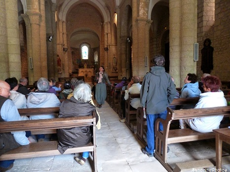 P`tite balade du Pays Montmorillonnais, Bouresse, avec Béatrice Guyonnet, Eglise Notre Dame, Poitou-Charentes, Juin 2013 (18)