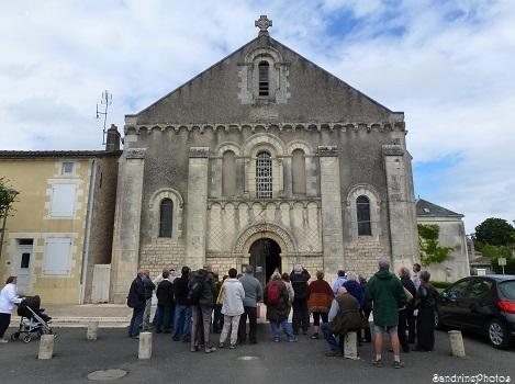P`tite balade du Pays Montmorillonnais, Bouresse, avec Béatrice Guyonnet, Eglise Notre Dame, Poitou-Charentes, Juin 2013 (19)