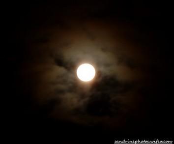 soir de pleine lune le ciel dans tous ses états