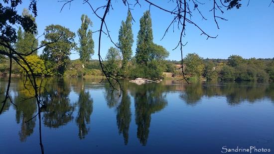 Sur les bords de La Vienne, La Planchette, Queaux 86, Sud Vienne