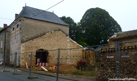 Travaux de la Grand`Rue, 2012-2013, Bouresse, Poitou-Charentes