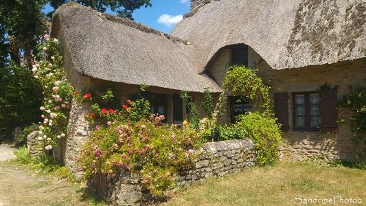 Village typique briéron, Kerhinet, Saint-Lyphard, Loire-Atlantique, Bretagne (1)