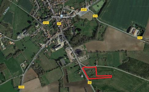 Vue aérienne du Verger de Bouresse 86410 - Refuge LPO chez Sandrine et Romuald Berthault, Sud-Vienne, site LPO (2)
